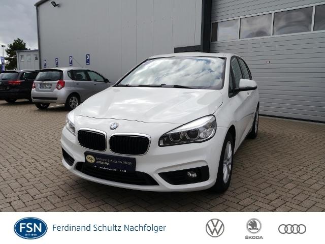 BMW 218 ActiveTourer+DSG+AHK+NAVI+PANO+LED+PDC+TEMPO, Jahr 2015, Diesel