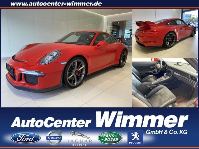 Porsche 911 GT3 Klima el. Fenster, Jahr 2014, Benzin