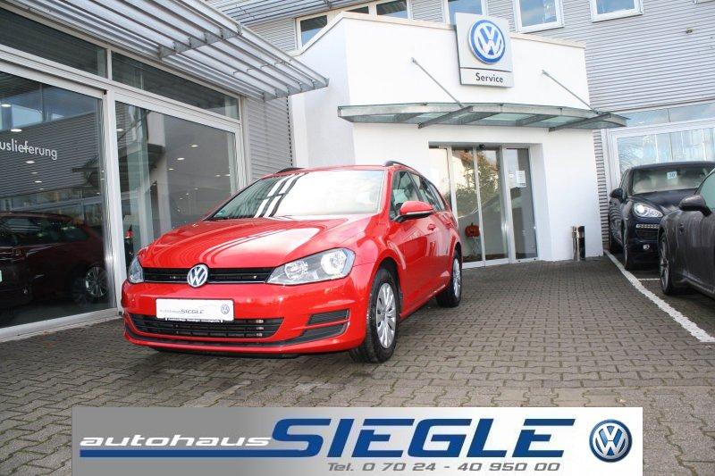 Volkswagen Golf 7 Variant 1.6 TDI*Parktronic*Aktionspreis !, Jahr 2016, Diesel