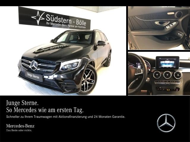 Mercedes-Benz GLC 300 4M AMG,Nightp.,PDC,LED,Distronic, Jahr 2017, Benzin