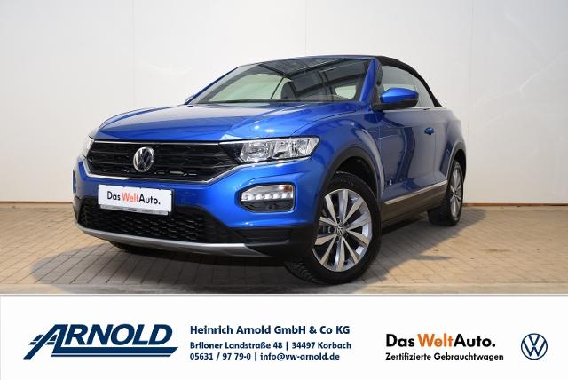 Volkswagen T-Roc Cabriolet TSI Style, Climatronic, GRA, Jahr 2020, Benzin
