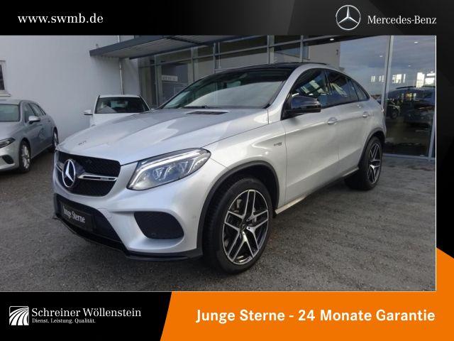 Mercedes-Benz GLE 43 AMG 4M Coupé Night*Pano*Airmatic*COM*AHK*, Jahr 2017, petrol