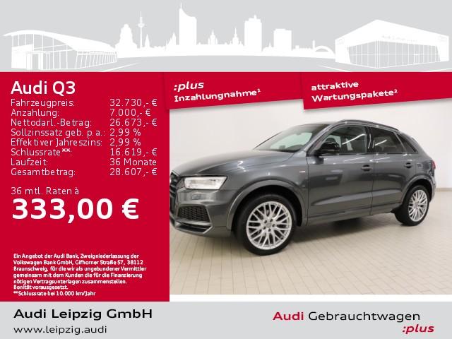Audi Q3 2.0 TFSI quattro sport *S line*Bose*DAB*LED*, Jahr 2018, Benzin
