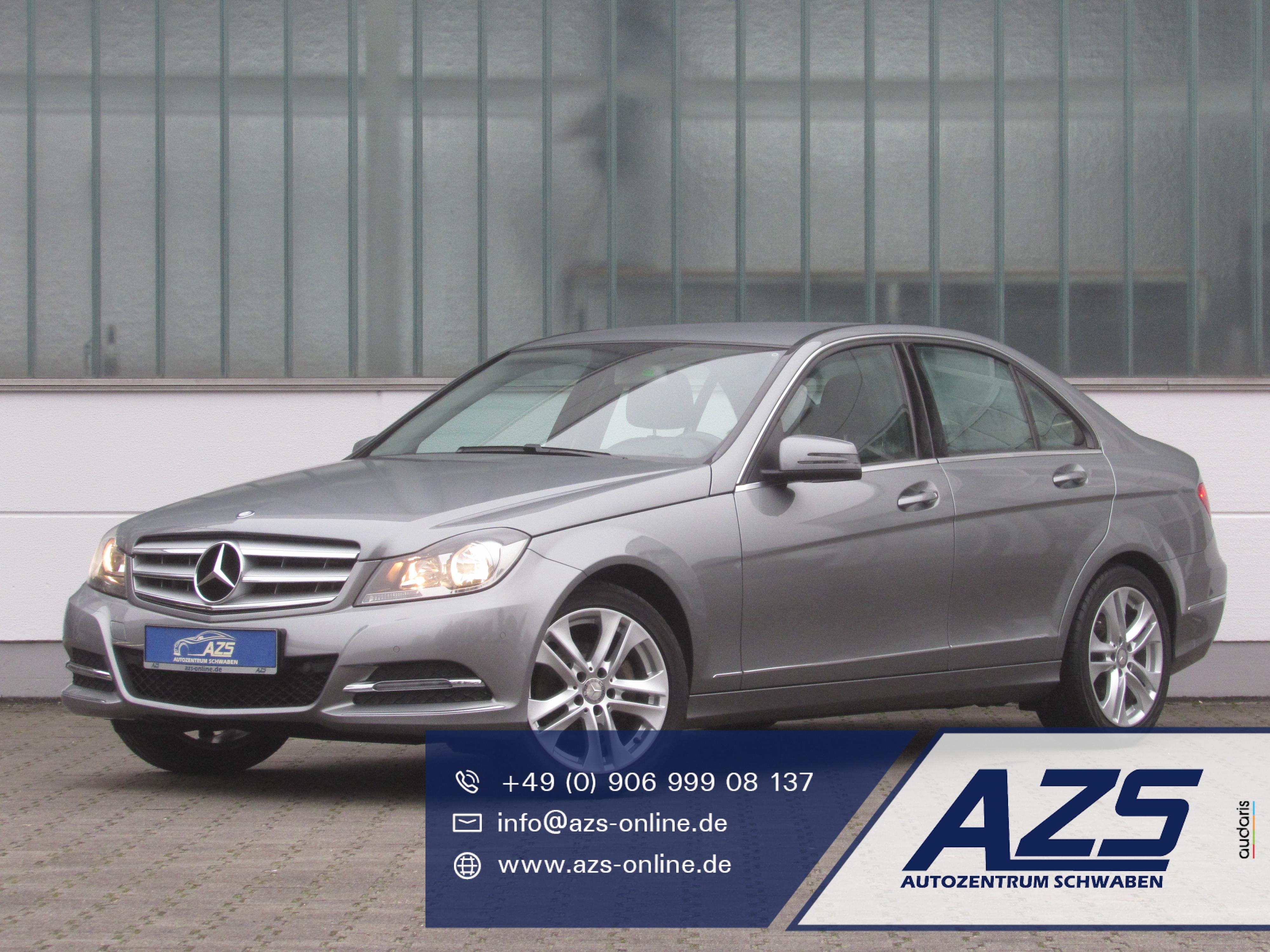 Mercedes-Benz C 180 | Teilleder | AZS-SICHERER-ONLINE-KAUF, Jahr 2013, Benzin