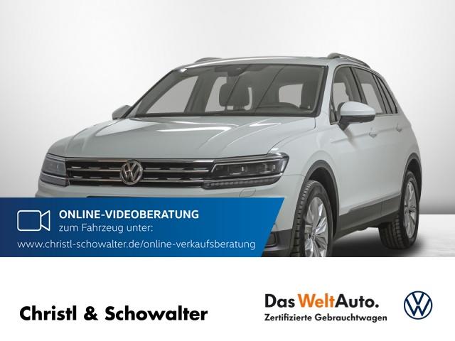 Volkswagen Tiguan Highline 2.0 TSI 4Motion DSG Leder Navi HUD, Jahr 2018, Benzin