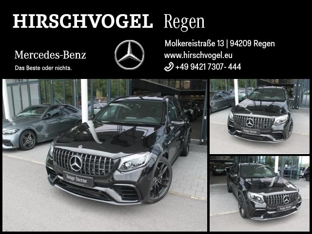 Mercedes-Benz GLC 63 AMG 4M+ Night+ABC+Com+ILS-LED+KEYLESS+Kam, Jahr 2019, Benzin
