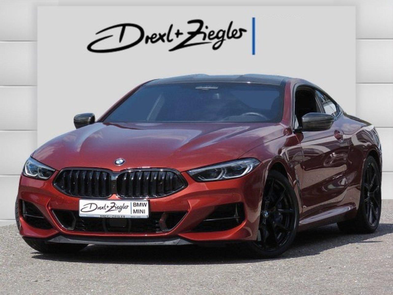 BMW M850i xDrive Coupé Carbon Laser Night Vision H&K, Jahr 2018, petrol