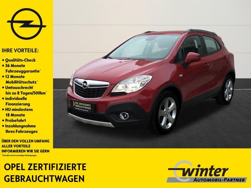 Opel Mokka Edition 4x4 PDC/LENKRAD+SHZ/TEMPOMAT/NSW, Jahr 2014, Diesel