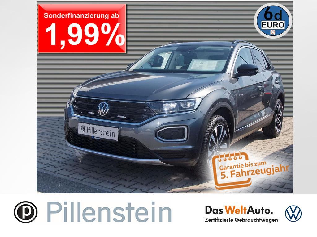 Volkswagen T-Roc UNITED 2.0TDI LED PANO DAB+ NAVI SITZH PDC, Jahr 2021, Diesel