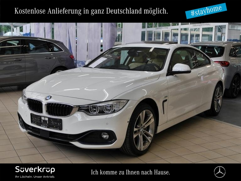 BMW 435d Coupé xDrive Sport Line Schiebedach/Kamera, Jahr 2016, Diesel