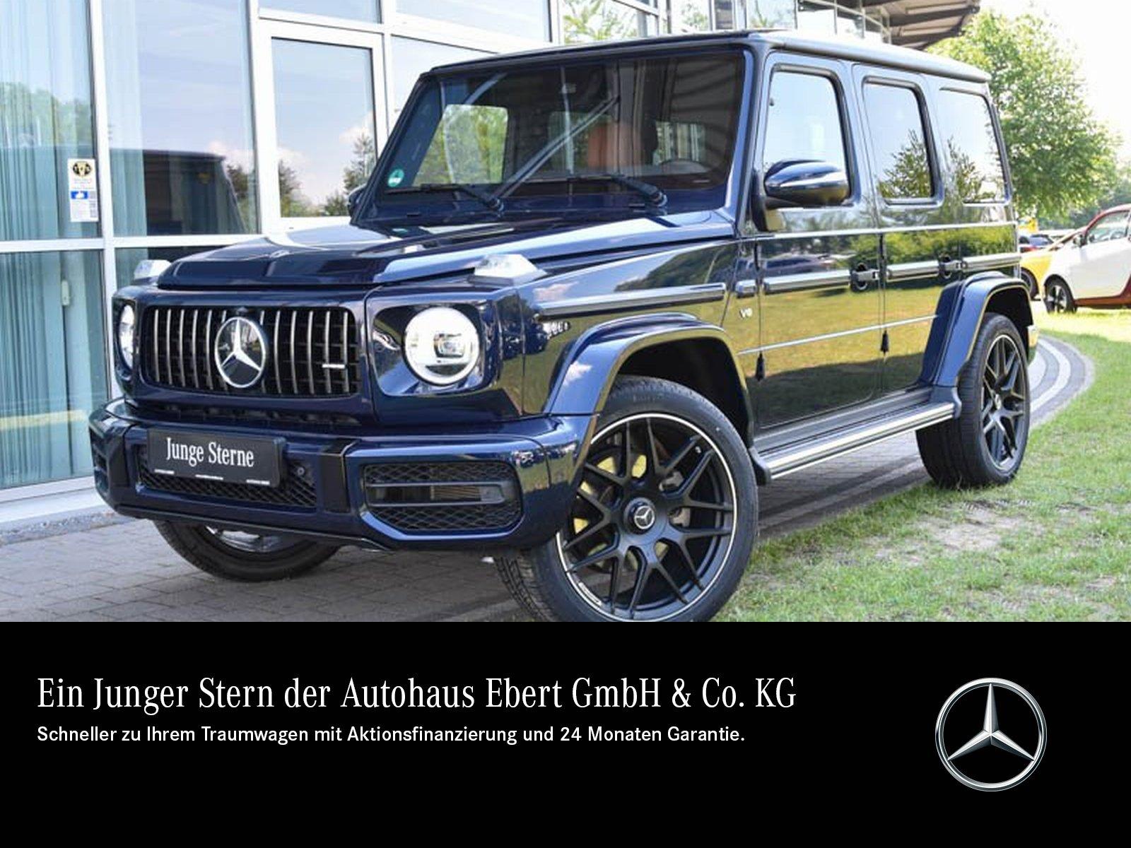 Mercedes-Benz G 500 Umbau G 63 AMG WIDESCREEN+360°+SD+STDHZG, Jahr 2018, Benzin
