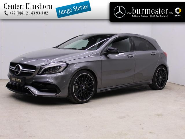 Mercedes-Benz A 45 AMG 4MATIC Harman+Perf. Sitze+COMAND+LED, Jahr 2018, Benzin