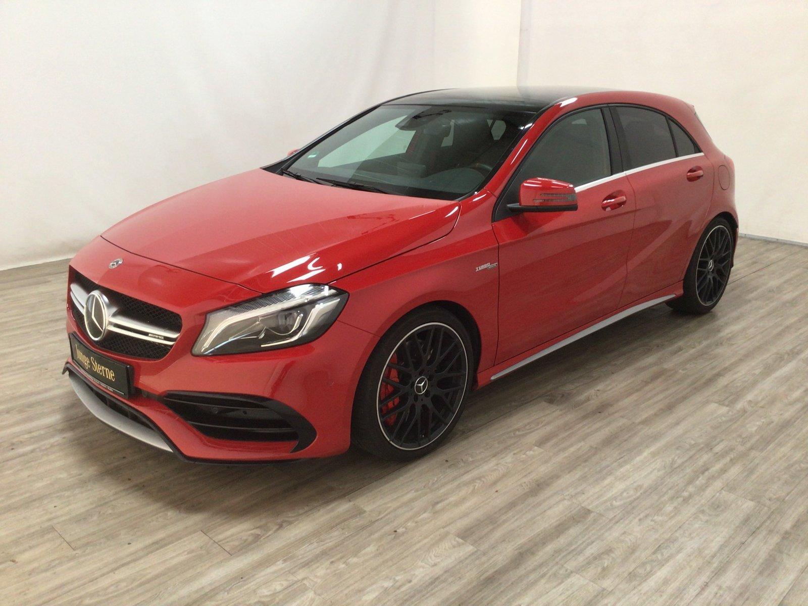 Mercedes-Benz A 45 AMG 4M COMAND*Pano*LED*Kamera*Distro*Memory, Jahr 2017, Benzin