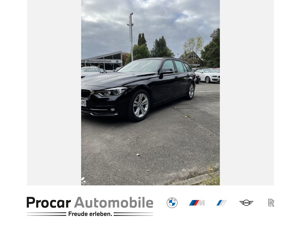 BMW 318i NAVI+HIFI+LED+TEMPOMAT+KLIMAAUTOMATIK+ALU++, Jahr 2019, Benzin