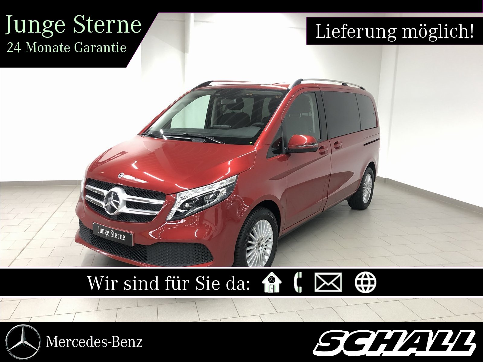 Mercedes-Benz V 300 d 4M K EDITION DISTR+LED+COMAND+KAMERA, Jahr 2019, Diesel