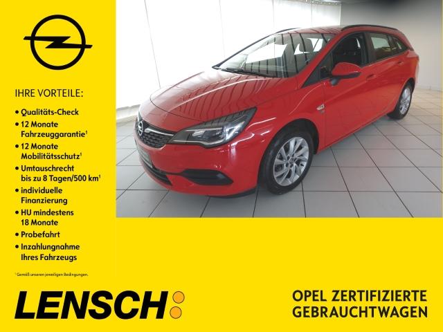 Opel Astra K ST 120 Jahre 1.2 PDC+AHK+KLIMAAUTOM+SHZ, Jahr 2019, Benzin