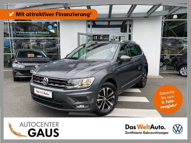 Volkswagen Tiguan Comfortline 2.0 TDI AHK Navi ACC, Jahr 2020, Diesel