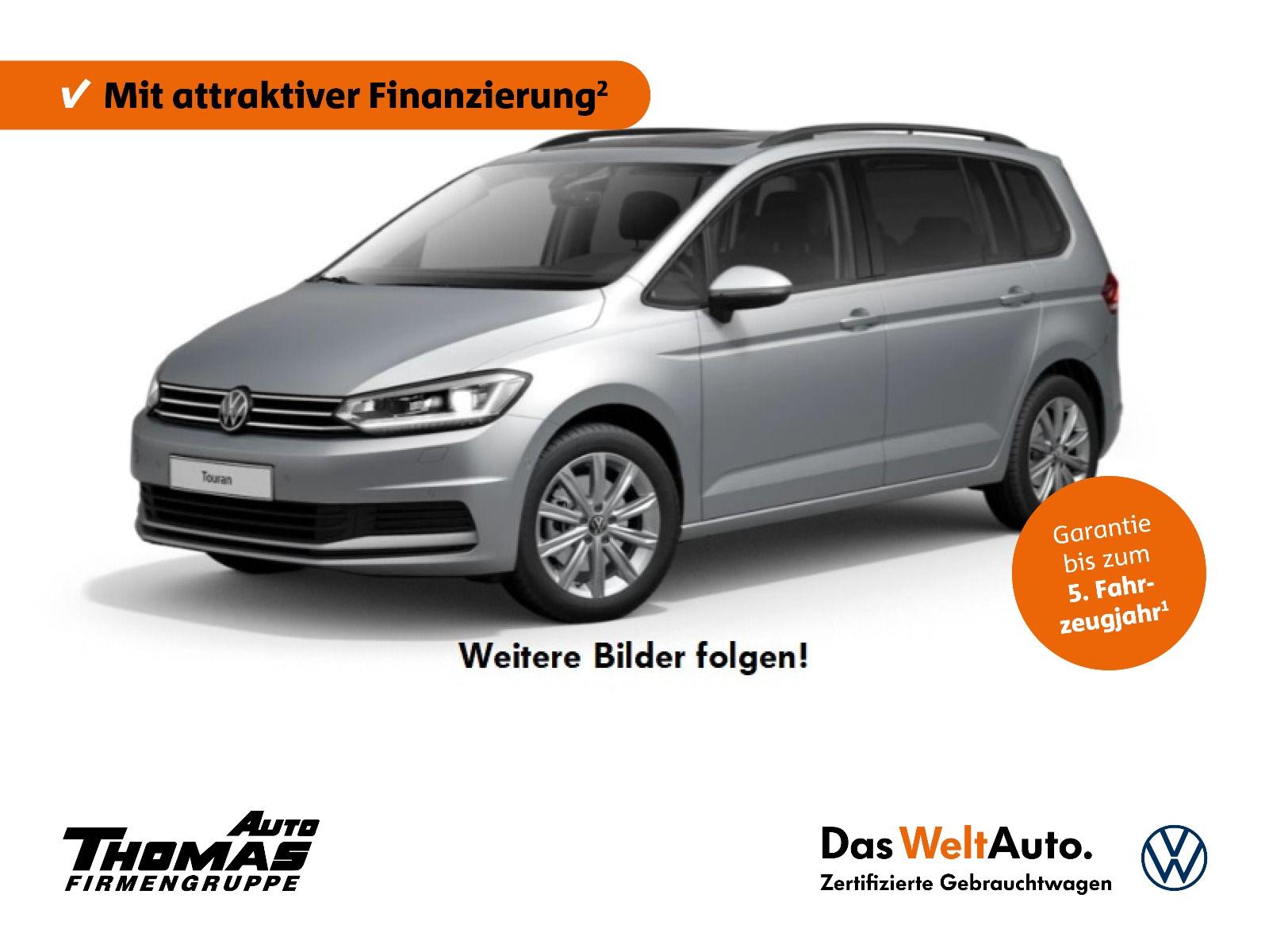 Volkswagen Touran CL 1.5 TSI DSG AHK+PANO+STDHZG+7SITZER, Jahr 2020, Benzin