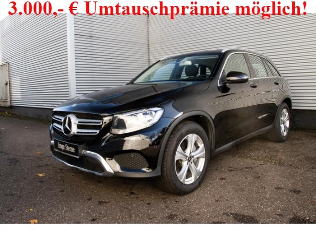 Mercedes-Benz GLC 220 d 4M Exclusive+Navi+AHK+aktiv Park-Assistent, Jahr 2019, Diesel