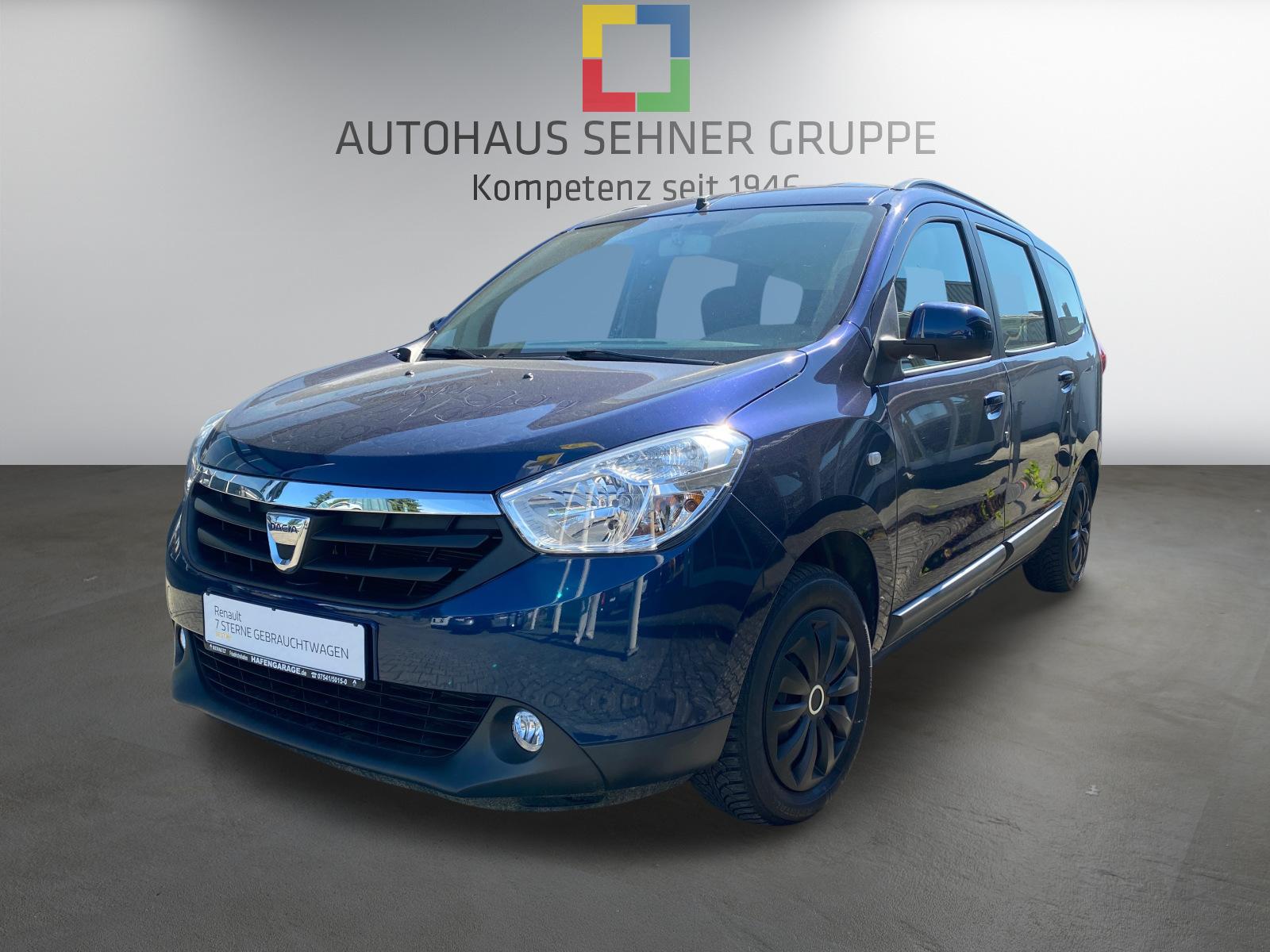 Dacia Lodgy Laureate TCe 115 *KLIMA*, Jahr 2016, Benzin