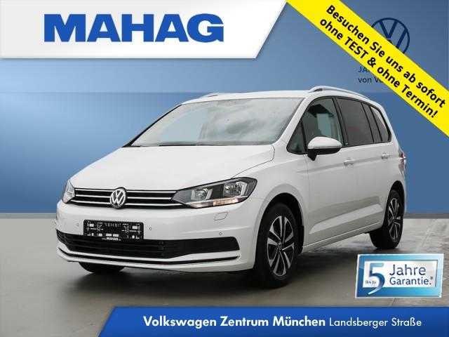 Volkswagen Touran 2.0 TDI United 7-Sitzer Navi Kamera AppConnect ParkPilot LightAssist FrontAssist 16Zoll DSG, Jahr 2020, Diesel