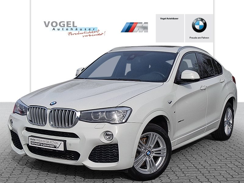 BMW X4 xDrive30d Modell M Sport Euro 6 Navi Bus. Head-Up Display Rückfahrkamera PDC Klima Sitzheizung Xenon Anhängerkupplung Lichtpaket, Jahr 2017, Diesel