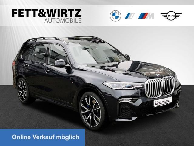 BMW X7 xDrive40i M-Sport AHK Leas. ab 1099,- br.o.A., Jahr 2019, Benzin