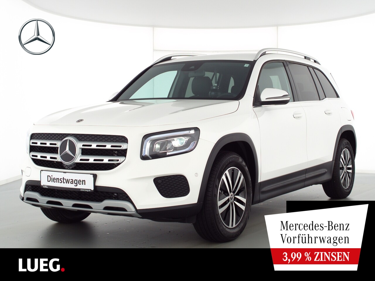 Mercedes-Benz GLB 180 STYLE+LED+KAMERA+DKL.GLAS+MBUX-ADVANCED, Jahr 2021, Benzin