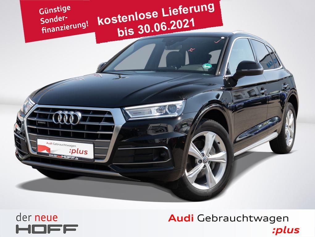 Audi Q5 Sport 40 TDI Pano Leder Virtual AHK ACC Kamer, Jahr 2020, Diesel