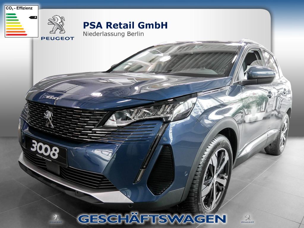 Peugeot 3008 Allure Pack PureTech 130, Jahr 2021, Benzin