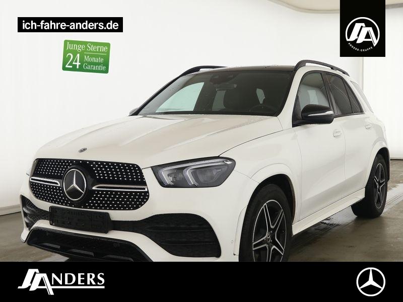 Mercedes-Benz GLE 450 4M AMG+Distr.+Pano+Night+AHK+LED+Kamera, Jahr 2020, Benzin