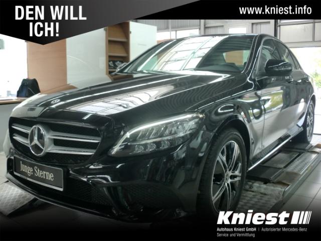 Mercedes-Benz C 180 Avantgarde+9G-Tronic+Navi+SHD+LED+Kamera+Spur-Paket, Jahr 2020, Benzin