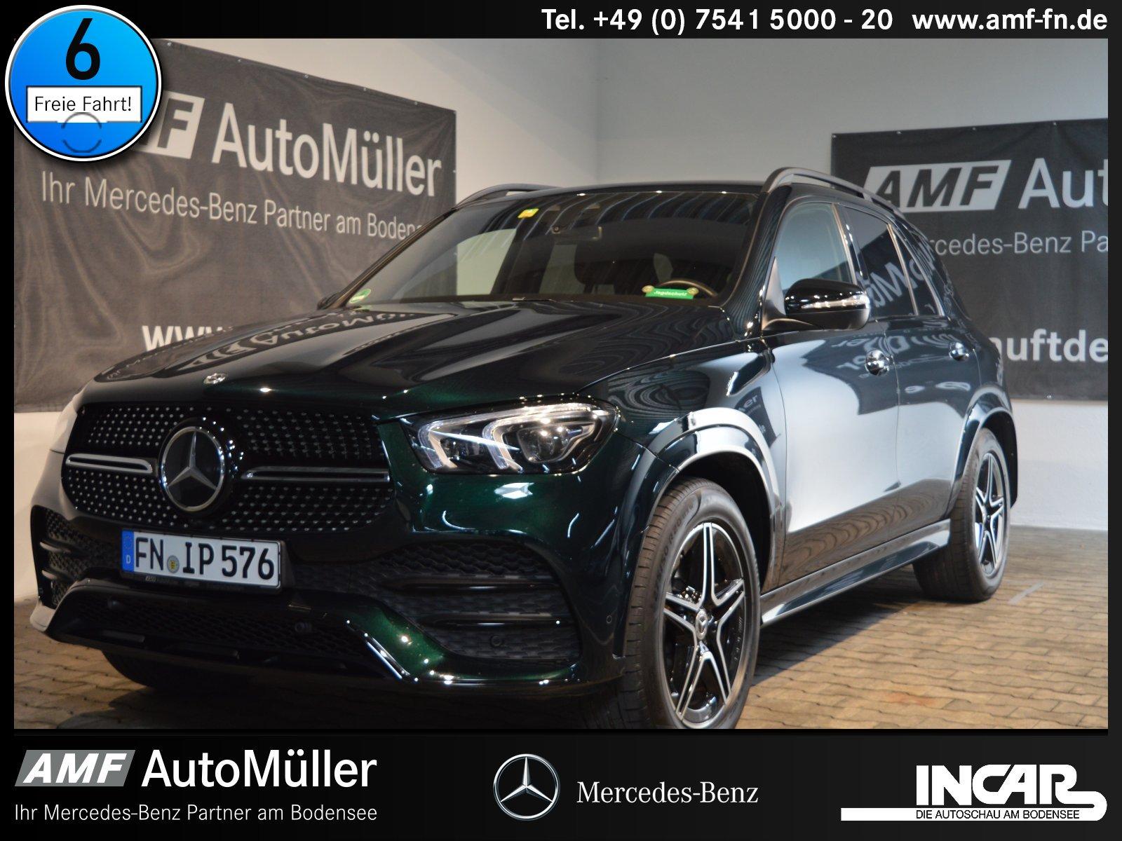 Mercedes-Benz GLE 450 4M AMG-Line DISTRO+AHK+STANDH:+360°+LED+, Jahr 2020, Benzin