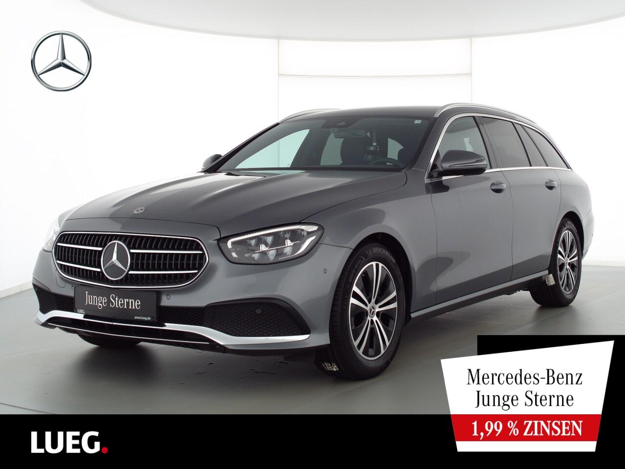 Mercedes-Benz E 200 T Avantgarde+MBUXHighEnd+LED-HP+Widesc+RFK, Jahr 2020, Benzin