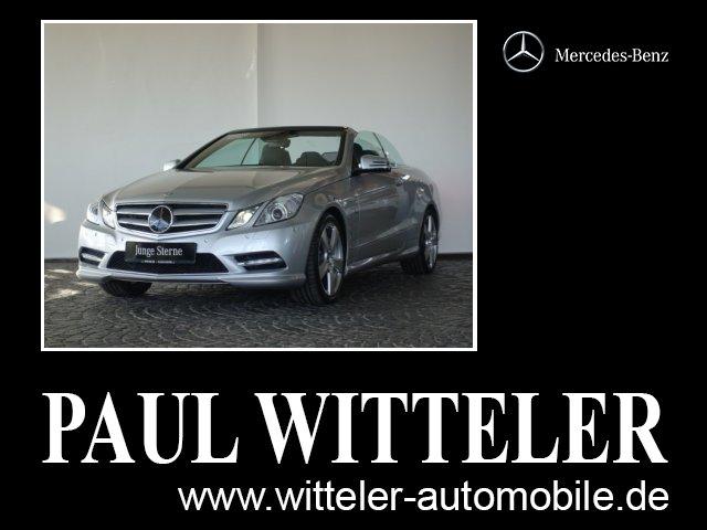 Mercedes-Benz E 500 Cabriolet Comand/Distronic/ILS/Airscarf/LM, Jahr 2012, Benzin