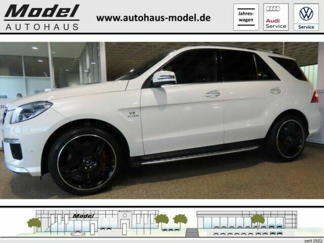 Mercedes-Benz ML 63 AMG - Nachtsicht - HuD - 21 - VOLL, Jahr 2015, Benzin