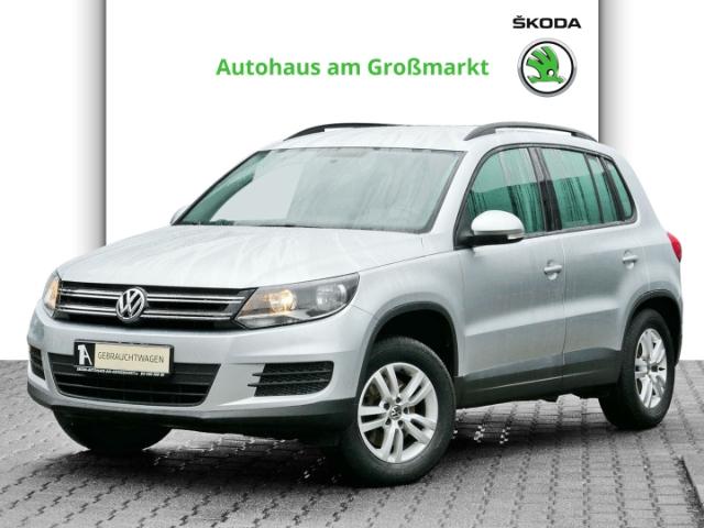 Volkswagen Tiguan Trend & Fun BMT 1.4 TSI, Jahr 2013, Benzin