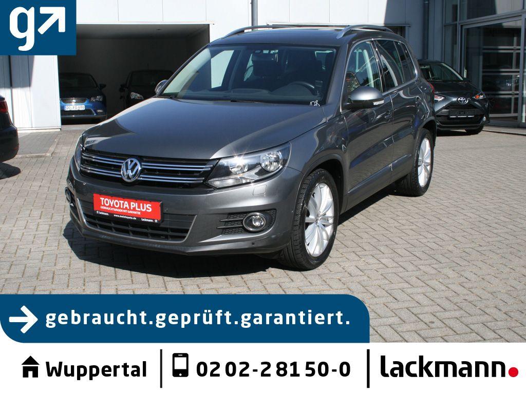 Volkswagen Tiguan 1.4 TSI Cup Sport&Style *Pano*AHK*Standhzg*, Jahr 2014, Benzin
