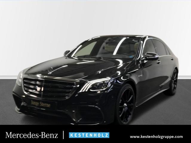 Mercedes-Benz S 63 4MATIC lang Bluetooth Head Up Display Navi, Jahr 2019, Benzin