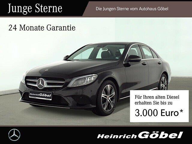 Mercedes-Benz C 220 d Kamera Totwinkel Comand LED Sitzheizung, Jahr 2020, Diesel