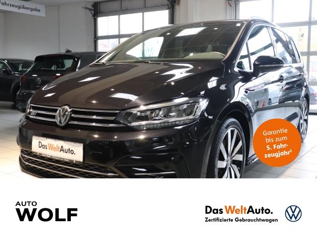 Volkswagen Touran R-Line Highline 1.5 TSI BMT Start-Stopp EU6d-T LED Navi StandHZG ACC Rückfahrkam., Jahr 2019, Benzin