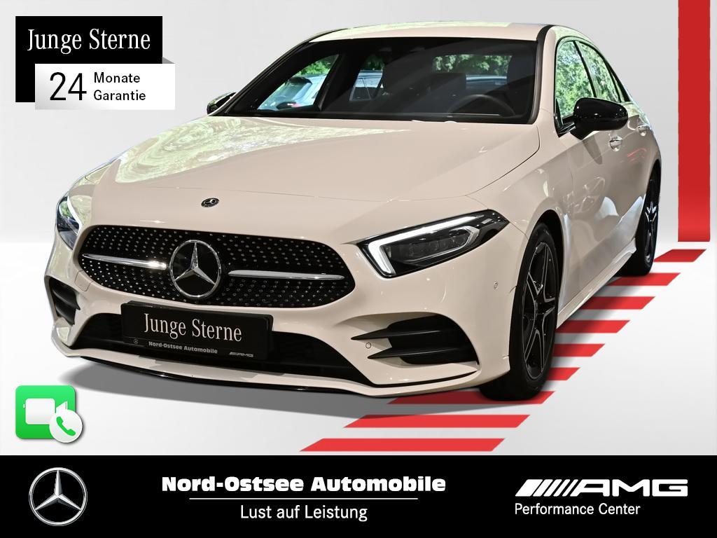 Mercedes-Benz A 220 4M AMG Limo Sitzh. MBUX Multibeam Keyless, Jahr 2020, Benzin