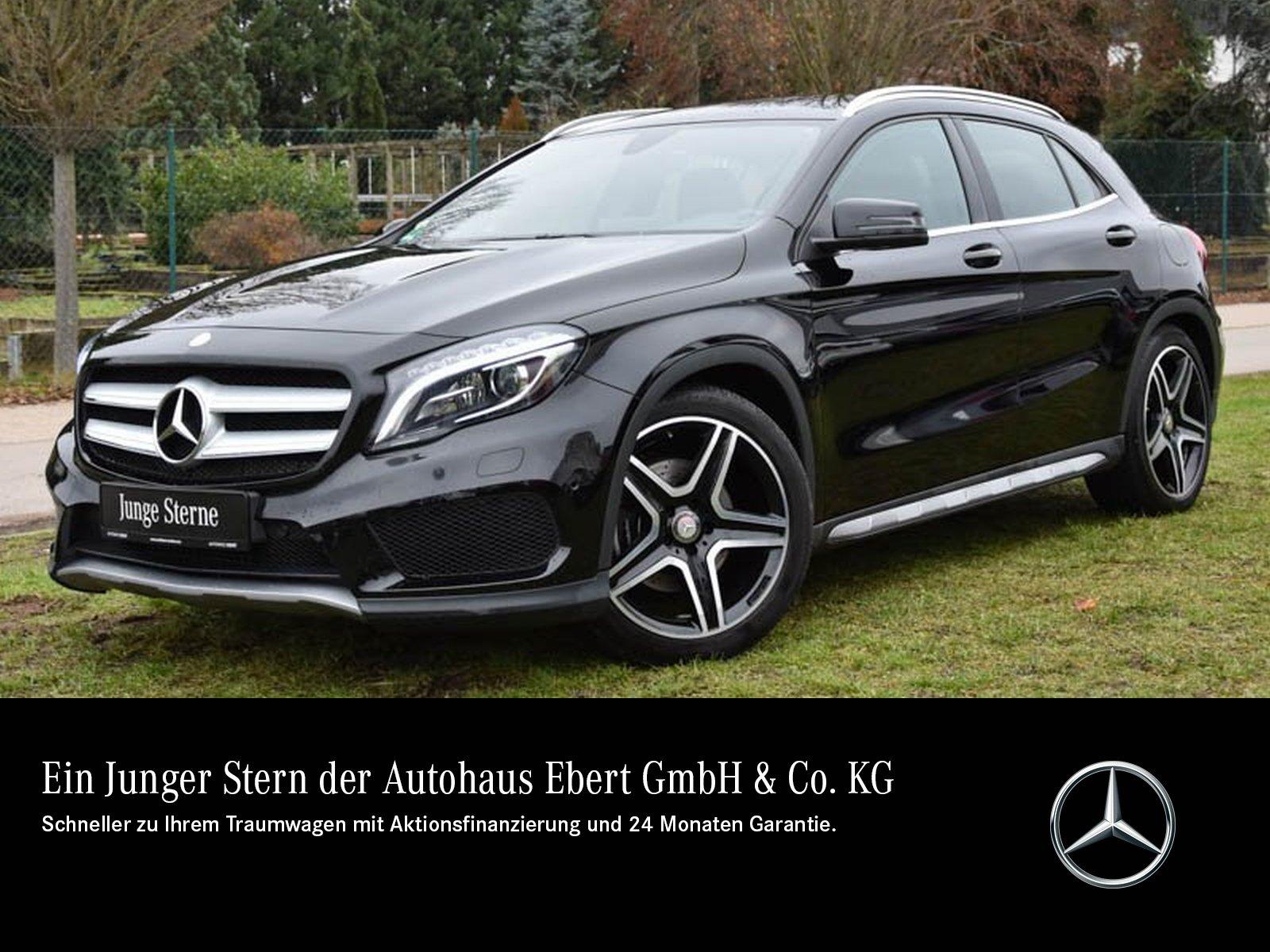 Mercedes-Benz GLA 250 AMG Line NAVI+ILS+RFK+EASY-PACK+SITZHZG, Jahr 2016, Benzin
