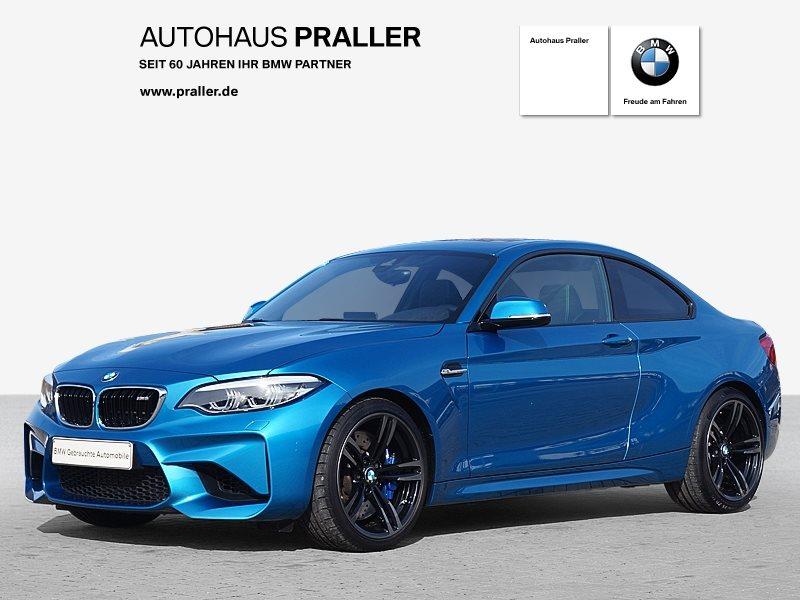 BMW M2 Coupé DKG Glasdach HarmanKardon top gepflegt, Jahr 2018, Benzin