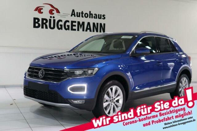 Volkswagen T-ROC 1,5 TSI ACT OPF DSG MJ2021 SPORT NAVI LED, Jahr 2020, Benzin