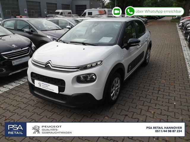 Citroën C3 Pure Tech 82 FEEL *Klima,Bluetooth*, Jahr 2017, Benzin