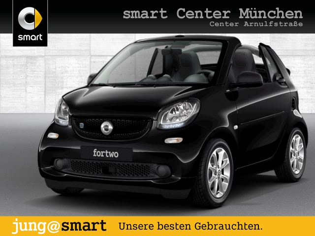 smart fortwo cabrio 60kWed cool&Audio SHZ Komfort Tempom, Jahr 2018, Elektro
