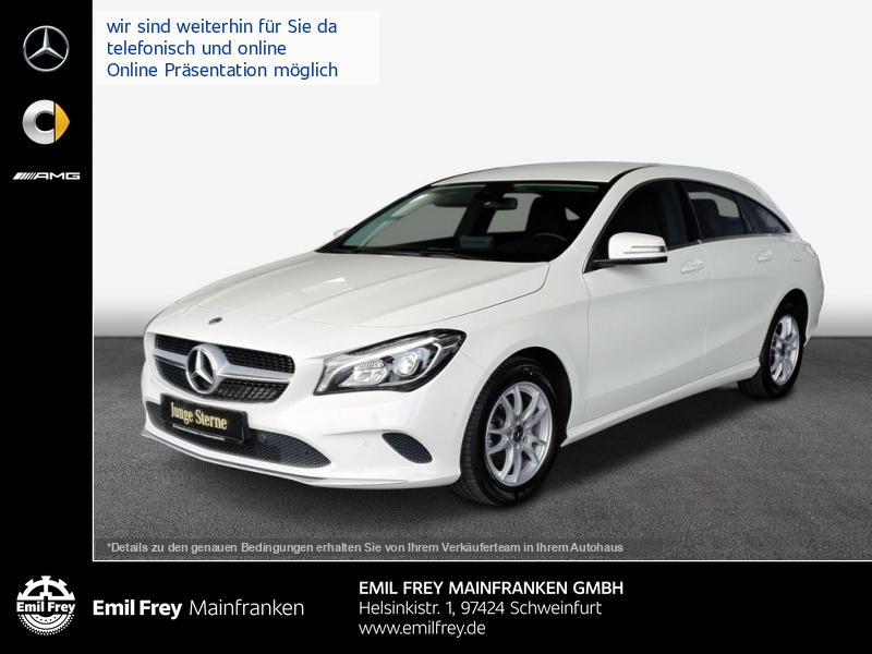 Mercedes-Benz CLA 200 d SB LED+NaviPark+SHZ, Jahr 2017, Diesel