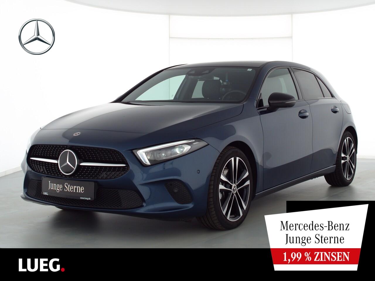 Mercedes-Benz A 200 d Progressive+MBUX+NavP+Pano+Mbeam+AHK+360, Jahr 2019, Diesel