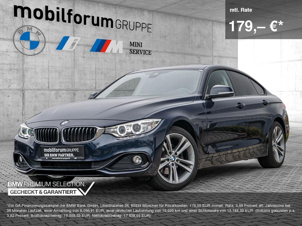 BMW 420d Gran Coupé xDrive Sport Line, Jahr 2017, Diesel